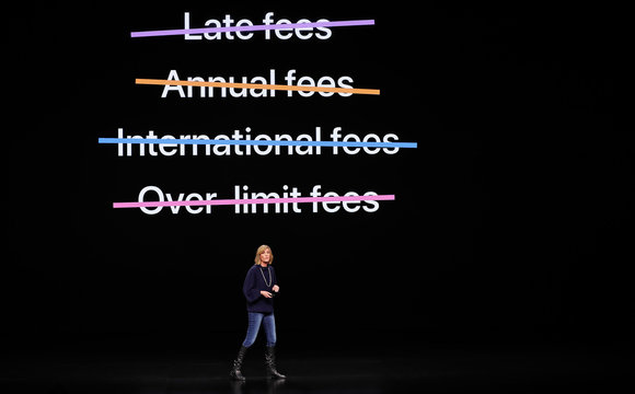 Jennifer Bailey VP Apple Pay at Apple, speaks during an Apple special event at the Steve Jobs Theater in Cupertino