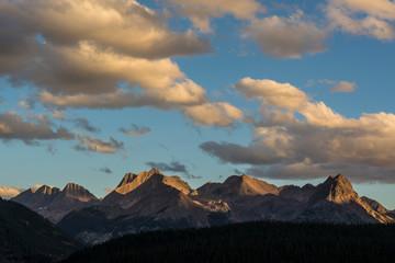 Clouds over Grenadier Range