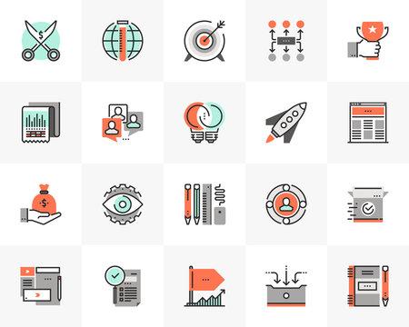 Startup Development Futuro Next Icons Pack