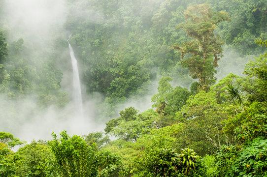 San Fernando Falls, near Canchona Costa Rica