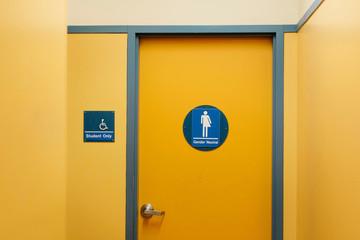 High School Gender Neutral Bathroom