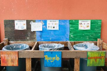 Elementary School Trash Separation