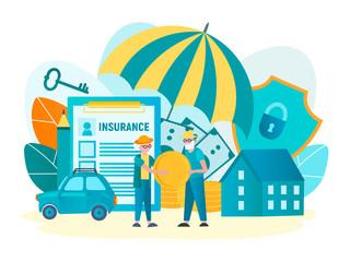 Insurance of savings of elderly people