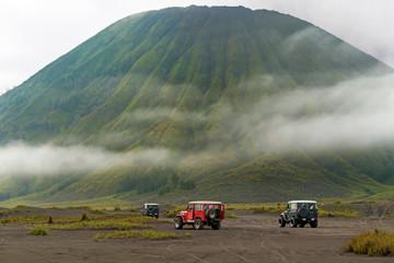 Jeep tour near Mt.Bromo, East Java, Indonesia