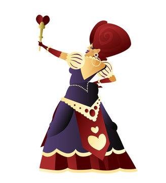 beautiful queen of hearts