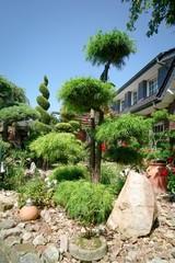 Mediteraner Sommergarten
