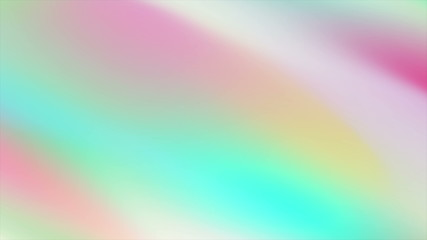 Bright holographic soft gradient stripes background