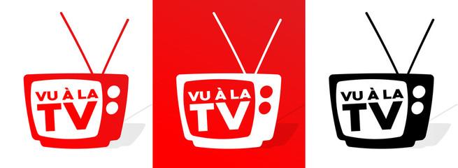 Fototapeta Vu à la télé obraz