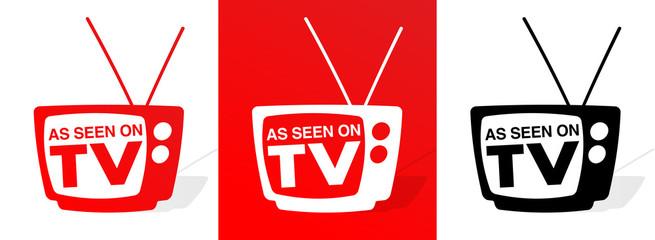 Fototapeta As seen on TV obraz