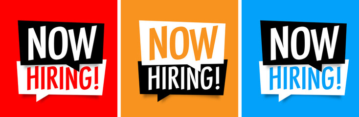 Now hiring !