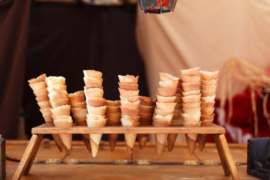 handmade cones