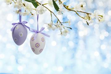 Easter eggs frame.