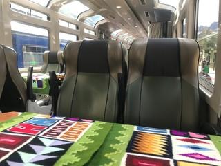 Interior of Peru Rail