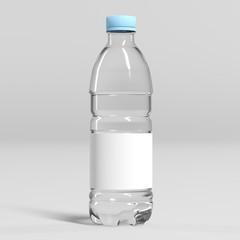 Bouteille d'eau personnalisable sur fond gris