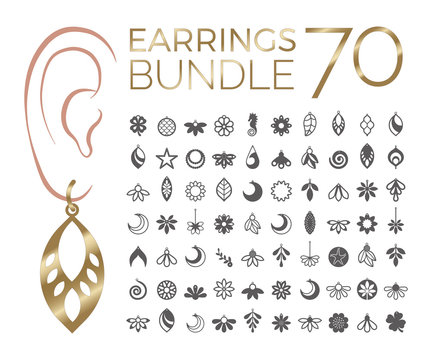70 Bundle earrings