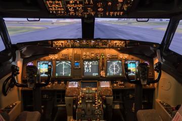 Flight Deck Cockpit