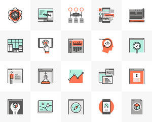 Web Development Futuro Next Icons Pack