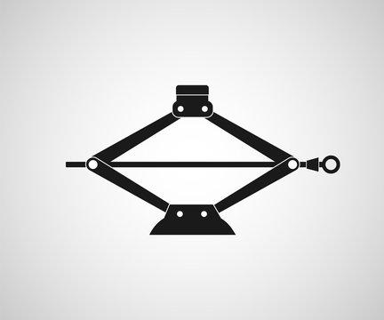 Mechanical car jack icon.