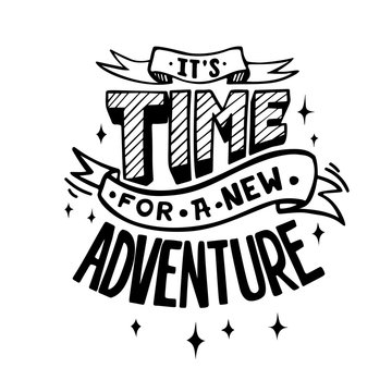 It's time for a new adventure