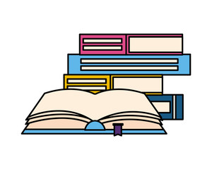 open book isolated icon