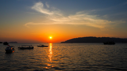 Evening KOta Kinabalu Borneo