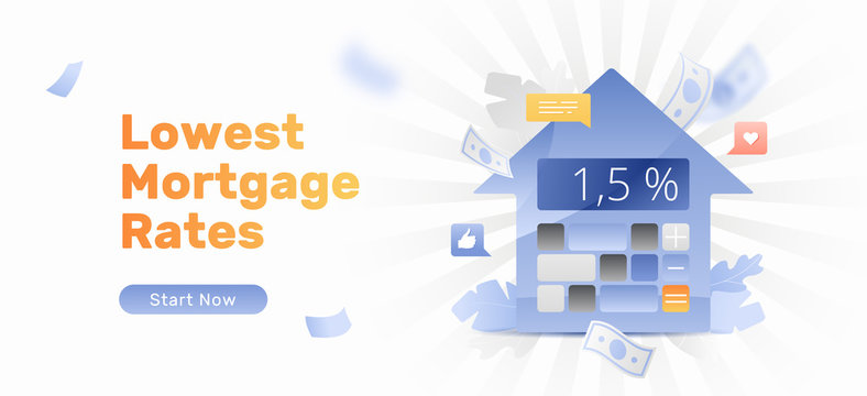 Lowest Mortgage Rates Banner