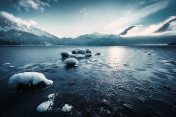 Wall Mural - Frozen Lake
