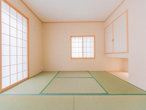 新築戸建ての和室