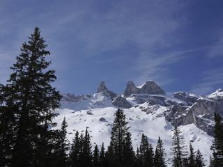 Die Drei Türme Bergmassiv