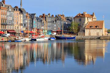 Honfleur harbor, Normandy, France Fotomurales