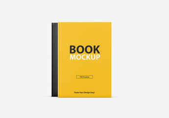 Textured Book Cover Mockup