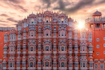 Hawa Mahal - Palace of Winds, Jaipur, India. Fototapete