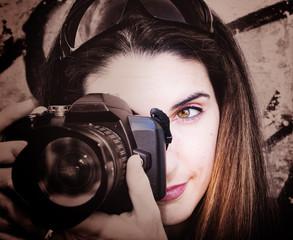 La mirada de la fotógrafa