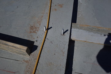 Concrete Slab and holddowns