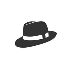 creative simple cowboy hat vector trendy design style