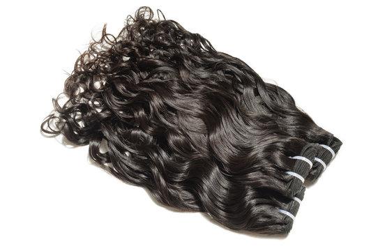 natural wave wavy black human hair weaves extensions bundles