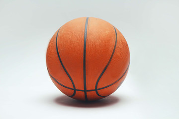 Basket ball on white background.