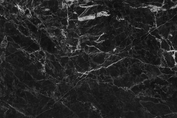 Black gray marble texture background with high resolution, top view of natural tiles stone in luxury and seamless glitter pattern.