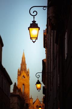 Straßen von Aix en Provence