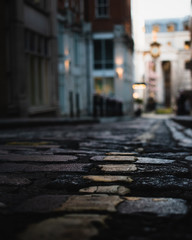 Cobblestone Closeup - London