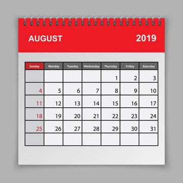 Calendar planner design template