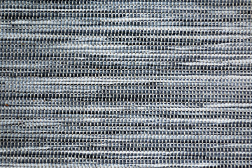 Black and white fabric carpet texture Wall mural