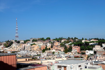 The residential area of  Rome