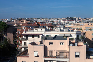The Balduina district in Rome