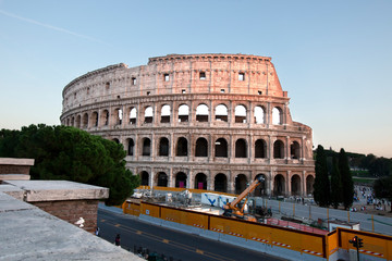 The ancient and the new in Italy
