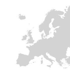 Fototapeta Vector europe map