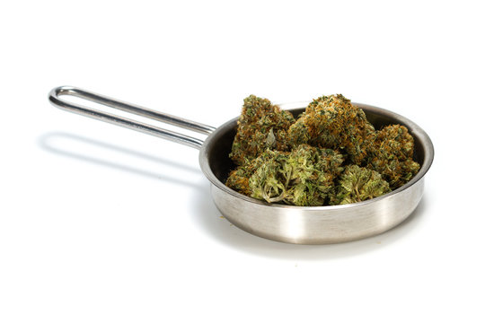 cooking up weed