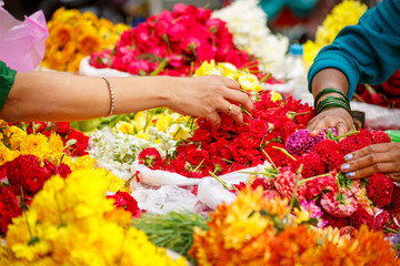 Flowers buying in Bangalore