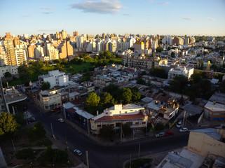 Panoramic view of Cordoba, Argentina.