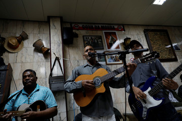 The Wider Image: Vibrant Cape Verdean culture draws people to Lisbon outskirt